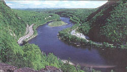 Delaware Water Gap  and River