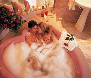 Heart Shaped Tub