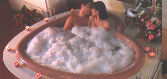 Heart Shaped Jacuzzi