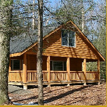 Poconos Log Home for Rent