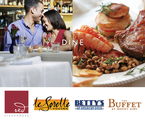 Mt Airy Casino Resort Restaurants